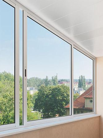 алюминиевое остекления балкона и лоджии
